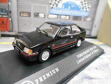 FORD Escort XR3i XR3 i Sport MKIV schwarz black 1990 Facelift IXO Triple 9 1:43