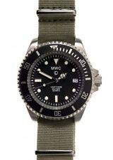 MWC Military Divers Watch with Ronda 715li Movement / 1 x Grey & 1 x Black Strap