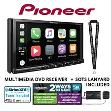 "Pioneer AVH-2330NEX 7"" DVD Receiver w/ SiriusXM Bluetooth HD Radio Apple CarPlay"