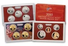 2010 U.S. Silver Proof Set