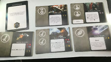 X Wing Miniatures Game Imperial Unique Cards Conversion Pack