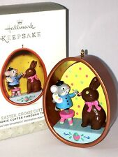 HALLMARK Keepsake 2017 HAPPY EASTER COOKIE CUTTER MOUSE Easter TREE ORNAMENT