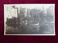 "Postcard Italy, ""La Riviera"" Santa Margherita Ligure, Echtfoto um 1930"