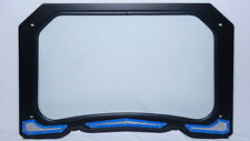 Full Glass Windshield - Polaris RZR XP 1000, RZR 900 (Blue) By Inner Demon