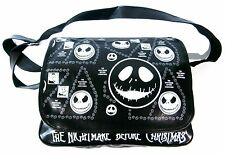 The Nightmare Before Christmas PVC Shoulder Messenger Bag with Multi Jack Faces