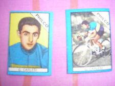 CARLESI PHILCO CYCLISME IMAGES FIGURINA CARDS BUSTE ACTION 1960 NANNINA ITALIE