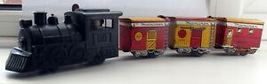 Marx tin plate & plastic Mainliner battery train Tested & working Loco & coaches