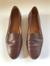 FLORSHEIM Women's Shoes Brown Leather Flats- W2109 -Size 7M