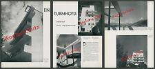 Welzenbacher Architektur Moderne Turmhotel Terrasse Sonnensegel Hall Tirol 1931