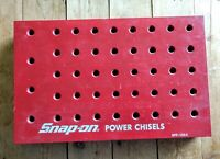 Rare Snap-On Tools Vintage Power Chisels Countertop Display Rack Promo SPP-135A
