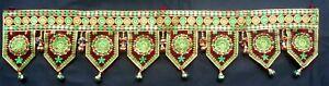 Indian Handicrafts Bandhan Dwar Traditional Toran Door Window Valance Toppers