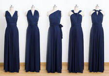 LONG INFINITY DRESS WITH TUBE (NAVY BLUE)