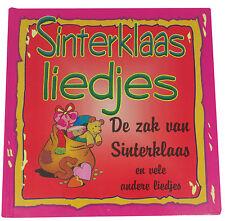 Sinterklaas Liedjes - hollandais Livre de chansons à Noël - Pink - Neuf