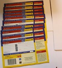 3 Stück DHL EU PAKETMARKEN 5 kg Ladenpreis Paketmarke Europa Versand