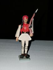 Vintage Aohna Plastic Greek Ceremonial Soldier Figure 60mm