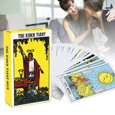 78pcs/set Knight Tarot Cards Deck and Guide Book Board Game