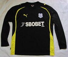 Cardiff City lejos de camisa de mangas largas Puma 2010-2011 los Azulejos Adulto Tamaño XL