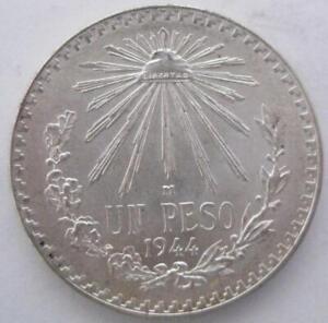 Mexico Peso 1944 BU #254