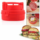 New STUFZ Stuffed Burger Press Hamburger Grill BBQ Patty Maker Juicy Kitchen