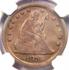 1876-CC Seated Liberty Quarter 25C - NGC XF Details - Rare Carson City Date!