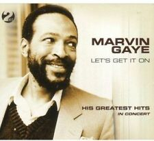 MARVIN GAYE - LET'S GET IT ON: HIS GREATEST HITS IN CONCERT NEW CD