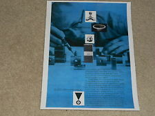JBL 1956 Raw Driver Ad, 1 page, Horn, Woofer