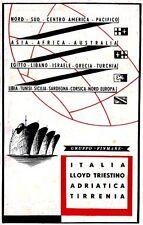 FINMARE-Lloyd triestino-Adriatica-Tirrenia-viaggi-NORD CENTRO AMERICA PACIFICO