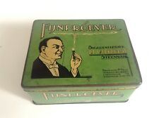 Ancienne boite en métal fer Cigares Fijnproever