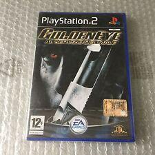 VINTAGE# PS2 PLAYSTATION  GOLDENEYE AL SERVIZIO DEL MALE # PAL SEALED SIGILLATO