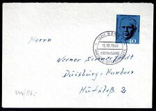 Germany - 1960 Marshall - Mi. 344 clean FDC