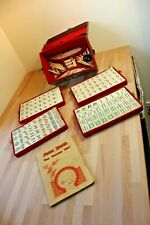 Antique Vintage Chinese Bamboo Mahjong Set