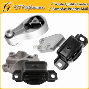 Quality Front & Rear Engine Mount 3PCS Set for 2007-2015 Smart Fortwo 1.0L L3