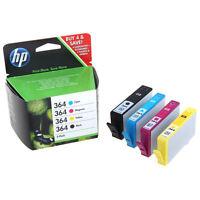 Set of 4 Original Genuine HP 364 Ink Cartridges For Photosmart 5520 Printer
