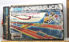 Vintage Aurora Powerslicks Sears Single Figure 8 Play Set #2214 Battery Powered