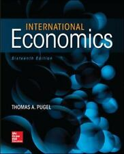 International Economics by Thomas A. Pugel 2016 Hardcover 16th edition Brand New