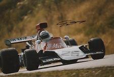 Howden Ganley Hand Signed Iso Marlboro F1 12x8 Photo.