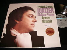 CHOPIN°WALTZES<>CYPRIEN KATSARIS<>Lp VINYL<>Germany Pressing<>6.42706
