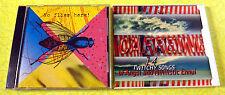 Caffeine & No Flies Here! ~ Promo Sampler Music CD Lot ~ Rare 90s Rock ~ INXS