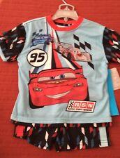 Disney Cars Pajamas Short Set NEW Size 4
