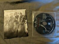 Assassin's Creed Brotherhood Bonus Content Blu-ray Disc and Poster 2010