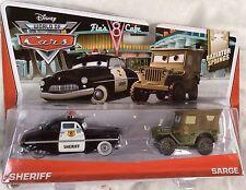 CARS - SHERIFF & SARGE - Mattel Disney Pixar