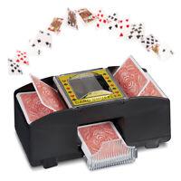 Mischia-Carte Elettrico, Mescolatore Automatico per Due Mazzi di Carte
