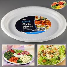 Serving Food Platter Oval Plates Party Weddings Fruit BBQ Washable Bowl Salad
