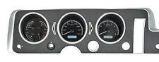 1968 GTO Lemans Tempest Dakota Digital Black Alloy & White VHX Analog Gauge Kit