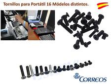 80 TORNILLOS PARA ODENADOR PORTATIL 16 MODELOS DISTINTOS 5 UNIDADES DE CADA