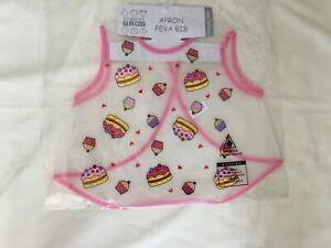 Baby Girls Apron Peva Bib New