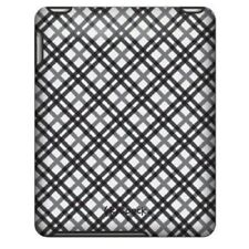 New Speck Fitted Fabric Hard Shell Snap Cover Case For iPad 1st Gen Black White