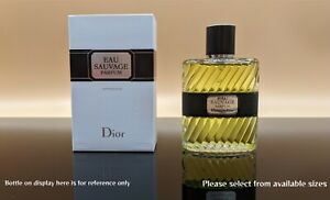 Eau Sauvage Parfum Dior Authentic Sample Travel Spray *read item description*
