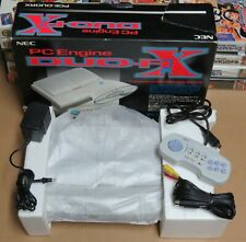 NEC PC Engine Duo-RX System Console Boxed bon état + original arcade Pad