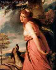 Emma Lady Hamilton as Bacchante by George Romney - Nelson Lover 8x10 Print 1125